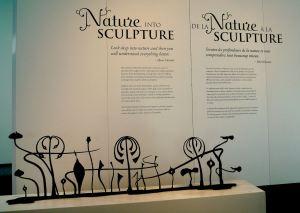 Nature into Sculpture - Museum of Nature 2011
