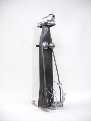 03_The Perfect Man_2011_ Forged iron, found metals, H1050xW27xD45cm._$1800.jpg