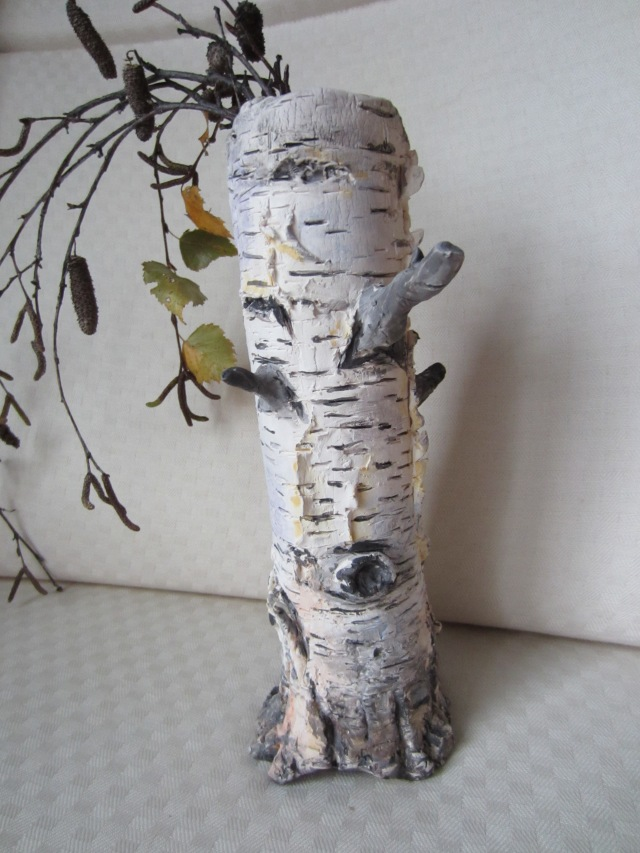 Birch Tree Vase by Alenka Paquet