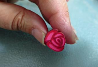 Line Labrecque rose cane