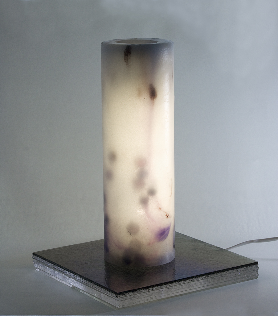 Eiko emori Light Tube – Purple (lit)