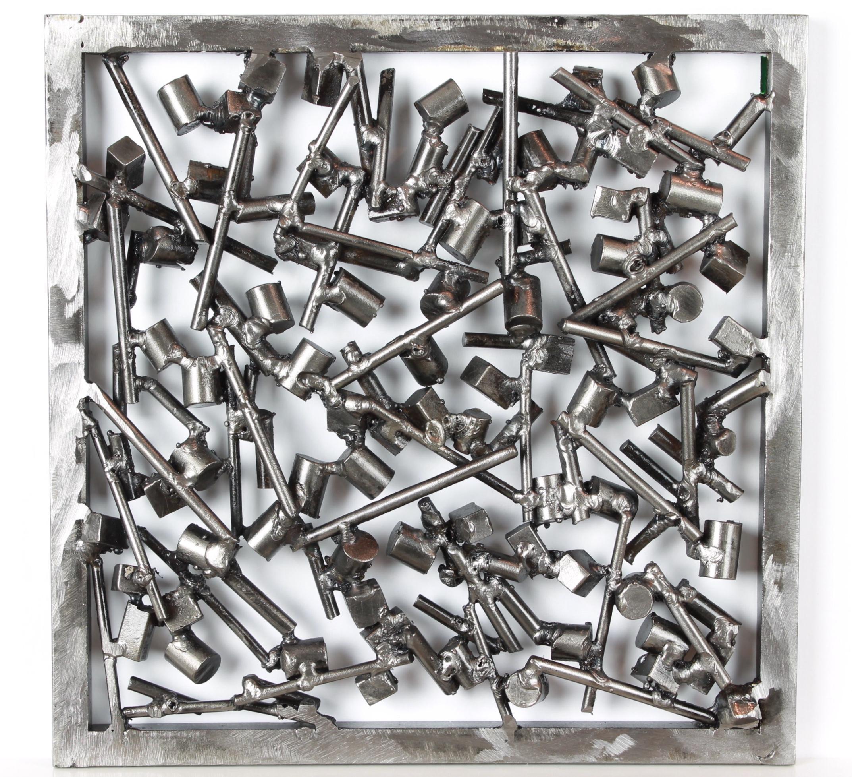 04_Battle_2020_welded steel_26 × 26 cm_$500